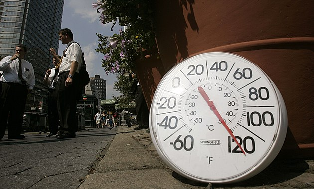 Heat Wave Grips New York