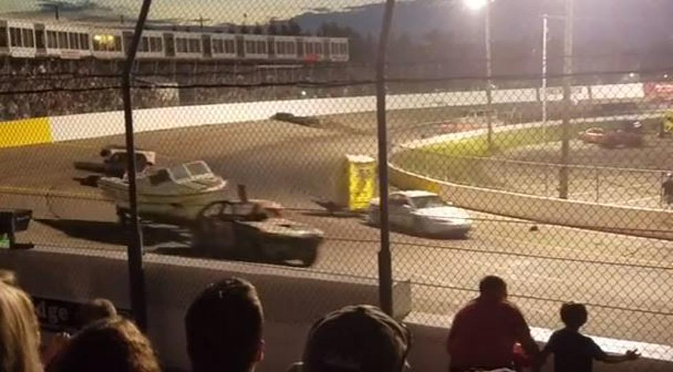 Total Destruction with Trailer Races at Kalamazoo Speedway