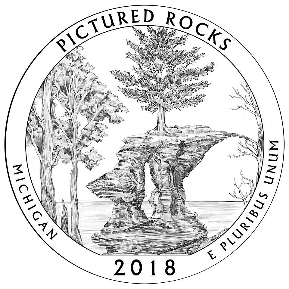 Pictured Rocks Next Image For Michigan Quarter